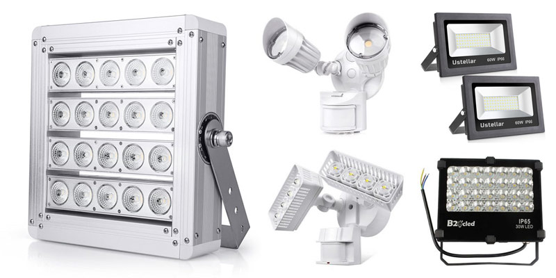 30W LED Flood Light Warm White Outdoor Lighting Security Yard Wall Work Lamp