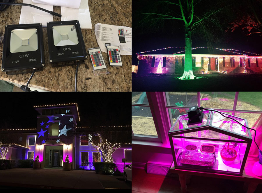 Glw Led Outdoor Color Changing Flood Light Review