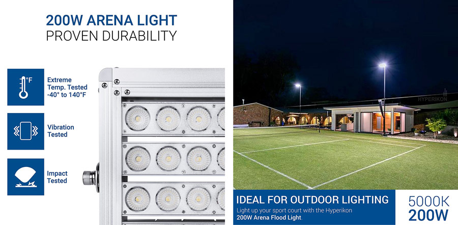 6 Best Led Stadium Lighting 2019 Buyer S Guide And Reviews