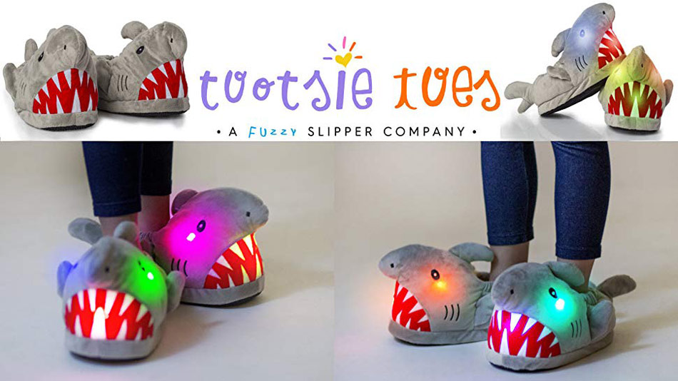 bcd895654e9 7 Best Adorable Light Up Slippers for Kids