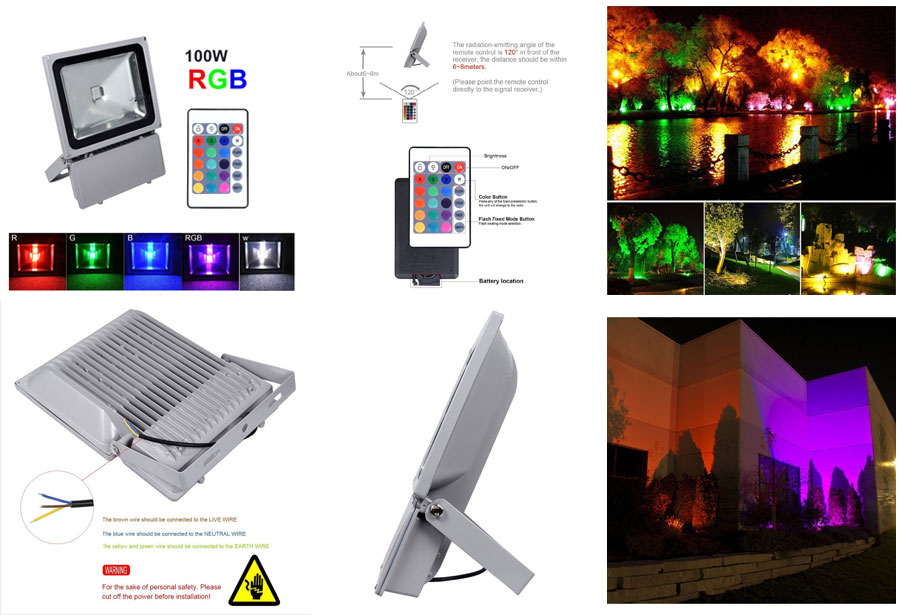 11 Best Led Rgb Outdoor Floodlights 2019 Buyer S Decor