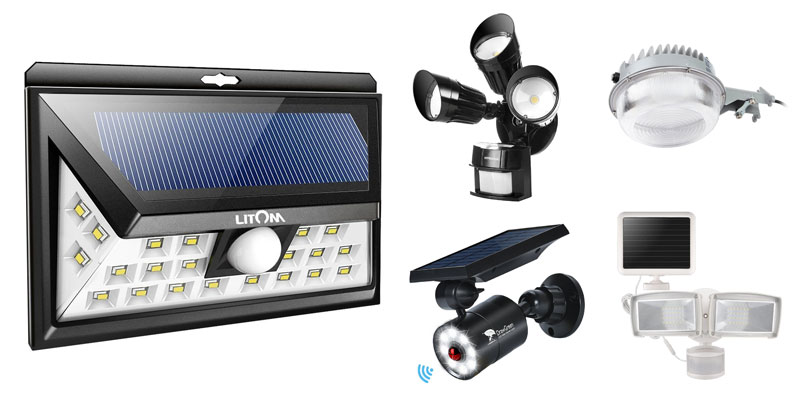 10 Best Commercial Solar Flood Lights For Security 2019