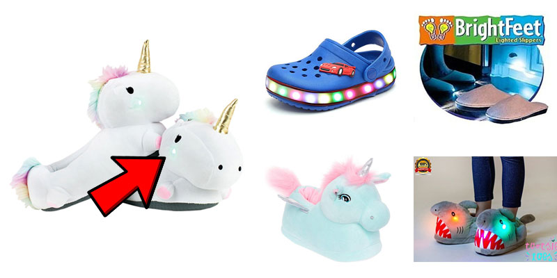 Adorable Light Up Slippers for Kids