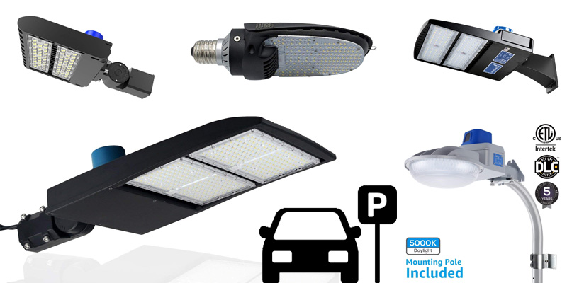 Best Led Parking Lot Lights Outdoor Shoebox