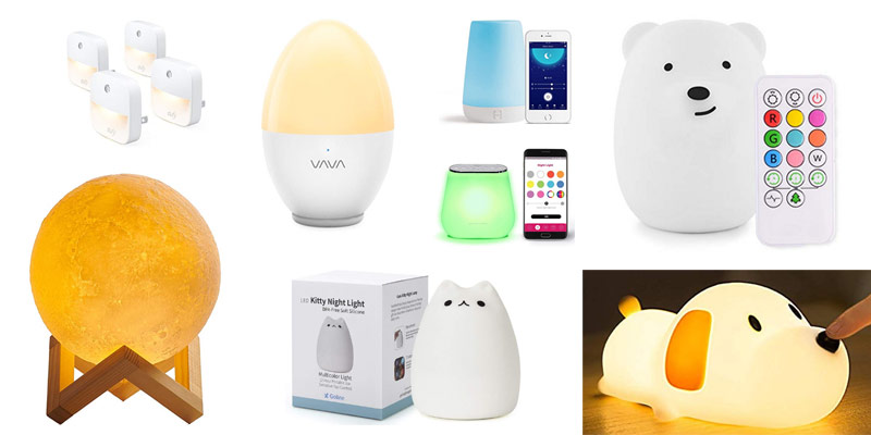 8 Best Nursery Nightlights For Tfeeding Diaper