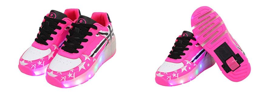 SDSPEED-Toddler-Girls-Light-Up-Shoe