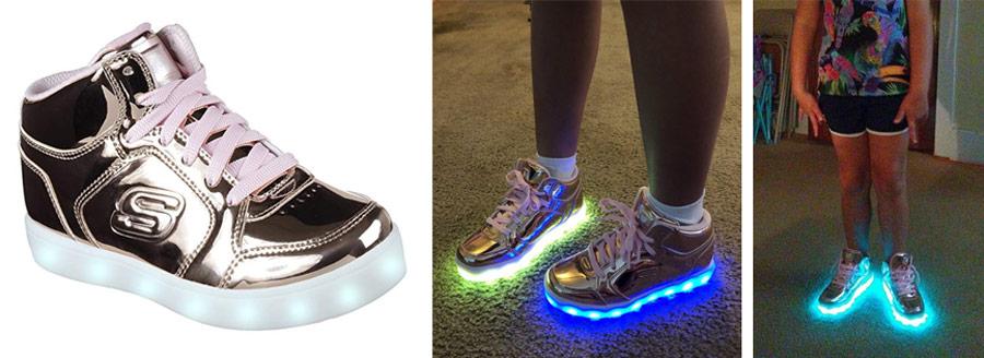 effa1212323b Skechers Kids Energy Lights-Dance-N-Dazzle Sneaker – Best Light Shoes for 4  to 8 Years Old