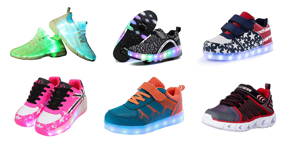 473361f4666f 18 Best Kids LED Light Up Shoes (2019) - Buyer's Guide & Reviews