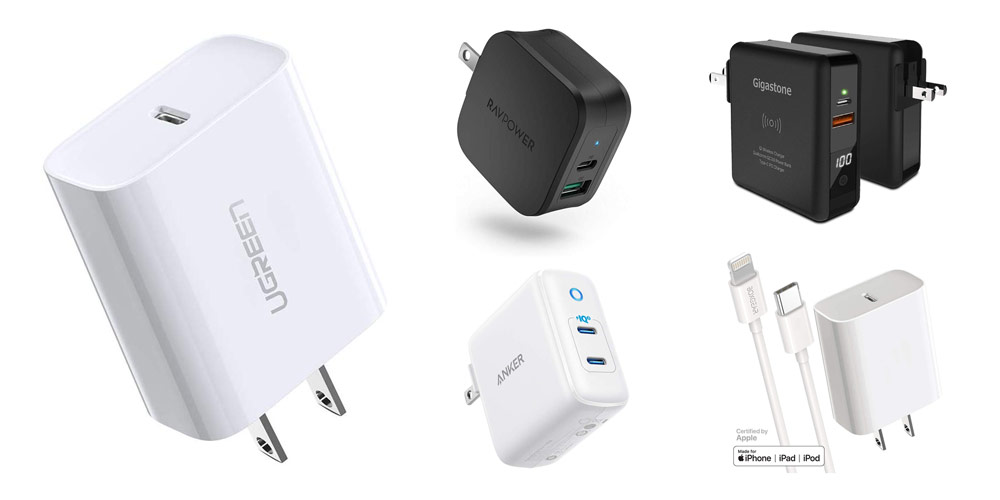 8 Best Fast Charger for iPhone 11, Pro & Pro Max 18W USB C