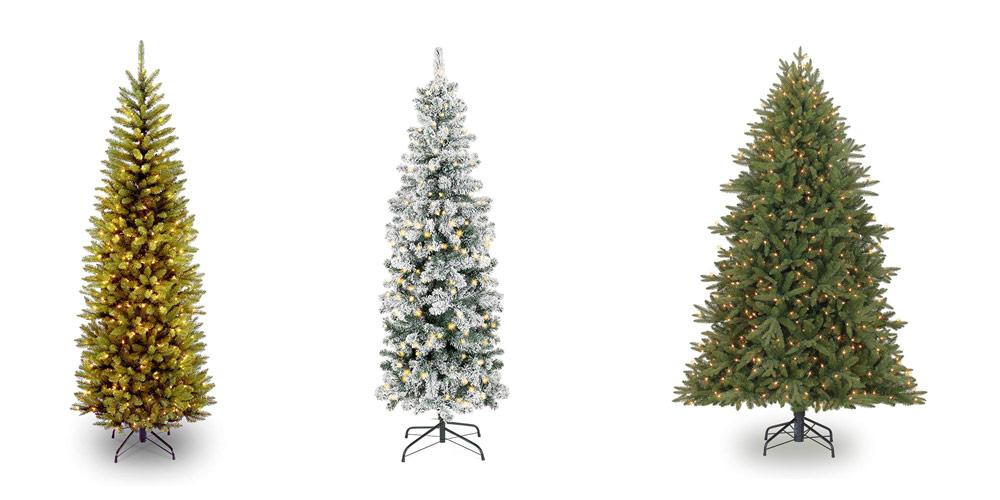 7 Best Cheap Pre-lit Artificial Christmas Tree (2019 ...