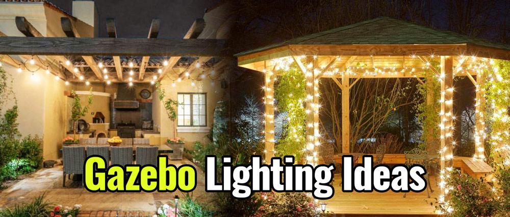 12 Best Gazebo Lighting 2020 Ideas