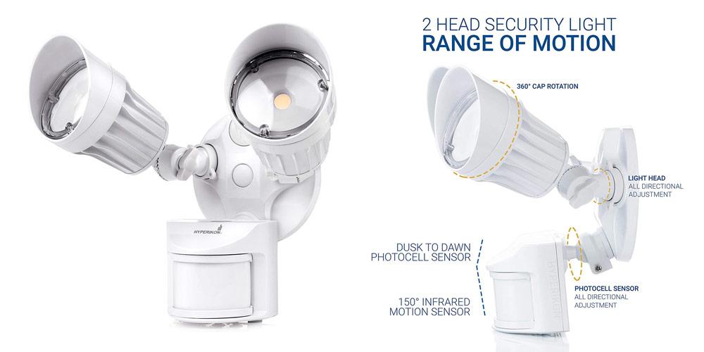 Hyperikon Led Motion Sensor Security